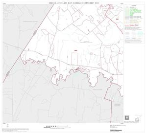 Primary view of object titled '2000 Census County Subdivison Block Map: Gonzales Northwest CCD, Texas, Block 3'.