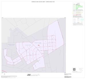 Primary view of object titled '2000 Census County Subdivison Block Map: Corsicana CCD, Texas, Inset B01'.