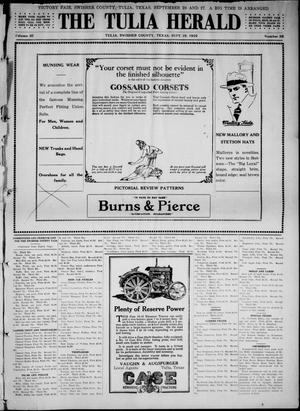 The Tulia Herald (Tulia, Tex), Vol. 10, No. 38, Ed. 1, Friday, September 19, 1919