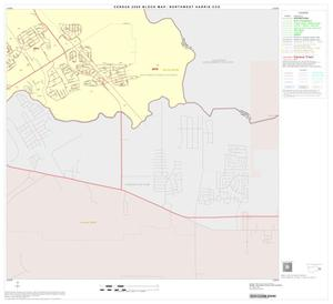 Primary view of object titled '2000 Census County Subdivison Block Map: Northwest Harris CCD, Texas, Block 23'.