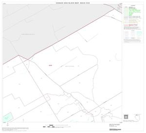 Primary view of object titled '2000 Census County Subdivison Block Map: Waco CCD, Texas, Block 3'.