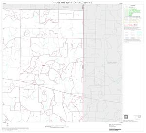 Primary view of object titled '2000 Census County Subdivison Block Map: Gail South CCD, Texas, Block 3'.