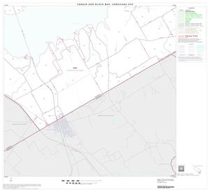 Primary view of object titled '2000 Census County Subdivison Block Map: Corsicana CCD, Texas, Block 14'.