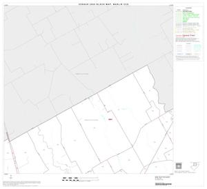 Primary view of object titled '2000 Census County Subdivison Block Map: Marlin CCD, Texas, Block 2'.