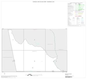 Primary view of object titled '2000 Census County Subdivison Block Map: Warren CCD, Texas, Index'.