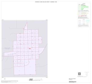 Primary view of object titled '2000 Census County Subdivison Block Map: Goree CCD, Texas, Inset A01'.