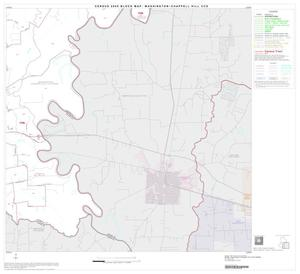 Primary view of object titled '2000 Census County Subdivison Block Map: Washington-Chappell Hill CCD, Texas, Block 4'.