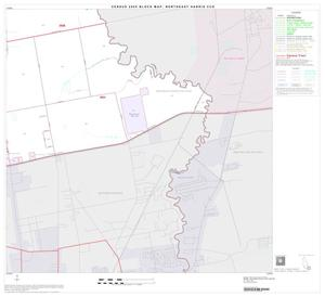 Primary view of object titled '2000 Census County Subdivison Block Map: Northeast Harris CCD, Texas, Block 13'.