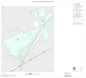 Primary view of object titled '2000 Census County Subdivison Block Map: Moody CCD, Texas, Inset C01'.