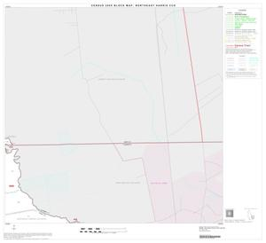 Primary view of object titled '2000 Census County Subdivison Block Map: Northeast Harris CCD, Texas, Block 10'.