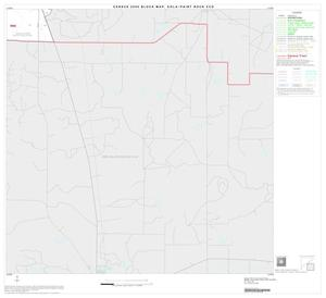 Primary view of object titled '2000 Census County Subdivison Block Map: Eola-Paint Rock CCD, Texas, Block 4'.