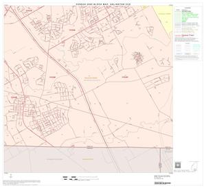 Primary view of object titled '2000 Census County Subdivison Block Map: Arlington CCD, Texas, Block 17'.