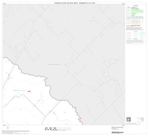 Primary view of object titled '2000 Census County Subdivison Block Map: Somerville CCD, Texas, Block 3'.