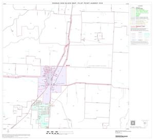 Primary view of object titled '2000 Census County Subdivison Block Map: Pilot Point-Aubrey CCD, Texas, Block 5'.