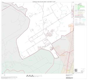 Primary view of object titled '2000 Census County Subdivison Block Map: Elm Mott CCD, Texas, Block 3'.