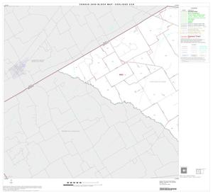 Primary view of object titled '2000 Census County Subdivison Block Map: Coolidge CCD, Texas, Block 1'.
