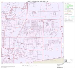 Primary view of object titled '2000 Census County Subdivison Block Map: Fort Worth CCD, Texas, Block 40'.
