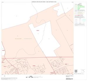 Primary view of object titled '2000 Census County Subdivison Block Map: San Antonio CCD, Texas, Block 25'.