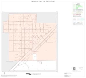 Primary view of object titled '2000 Census County Subdivison Block Map: Seagraves CCD, Texas, Inset A01'.