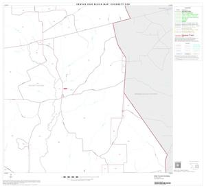 Primary view of object titled '2000 Census County Subdivison Block Map: Crockett CCD, Texas, Block 6'.