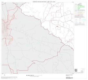 Primary view of object titled '2000 Census County Subdivison Block Map: Ore City CCD, Texas, Block 3'.