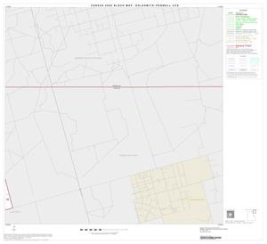 Primary view of object titled '2000 Census County Subdivison Block Map: Goldsmith-Penwell CCD, Texas, Block 3'.