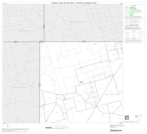 Primary view of object titled '2000 Census County Subdivison Block Map: Tarzan-Lenorah CCD, Texas, Block 1'.