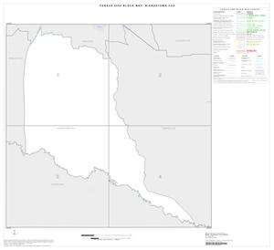 Primary view of object titled '2000 Census County Subdivison Block Map: Biardstown CCD, Texas, Index'.
