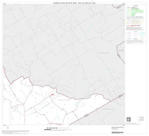 Primary view of object titled '2000 Census County Subdivison Block Map: Valley Mills CCD, Texas, Block 2'.