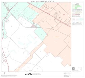 Primary view of object titled '2000 Census County Subdivison Block Map: Northeast CCD, Texas, Block 54'.