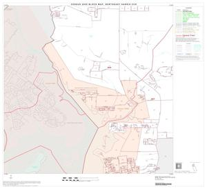Primary view of object titled '2000 Census County Subdivison Block Map: Northeast Harris CCD, Texas, Block 3'.