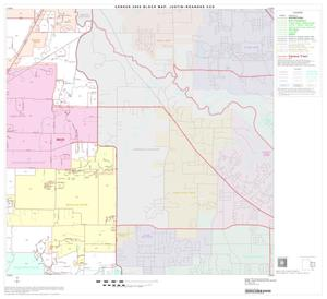 Primary view of object titled '2000 Census County Subdivison Block Map: Justin-Roanoke CCD, Texas, Block 6'.