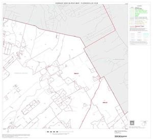Primary view of object titled '2000 Census County Subdivison Block Map: Floresville CCD, Texas, Block 2'.
