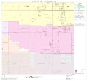 Primary view of object titled '2000 Census County Subdivison Block Map: Southwest CCD, Texas, Block 52'.