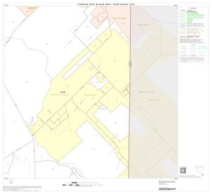 Primary view of object titled '2000 Census County Subdivison Block Map: Northeast CCD, Texas, Block 58'.