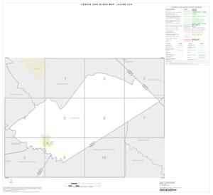 Primary view of object titled '2000 Census County Subdivison Block Map: Luling CCD, Texas, Index'.
