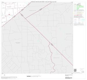 Primary view of object titled '2000 Census County Subdivison Block Map: Hallettsville CCD, Texas, Block 8'.