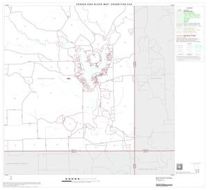 Primary view of object titled '2000 Census County Subdivison Block Map: Crosbyton CCD, Texas, Block 6'.