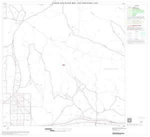 Primary view of object titled '2000 Census County Subdivison Block Map: Van Horn Rural CCD, Texas, Block 11'.