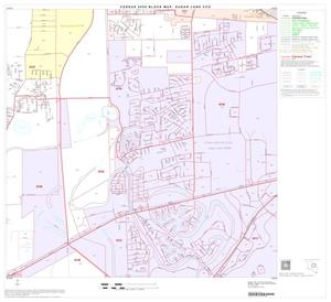 Primary view of object titled '2000 Census County Subdivison Block Map: Sugar Land CCD, Texas, Block 6'.