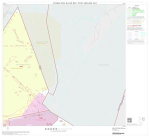 Primary view of object titled '2000 Census County Subdivison Block Map: Port Aransas CCD, Texas, Block 2'.