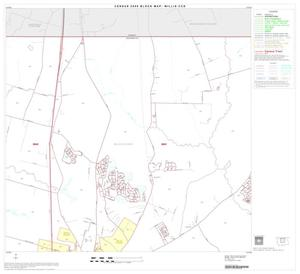 Primary view of object titled '2000 Census County Subdivison Block Map: Willis CCD, Texas, Block 2'.