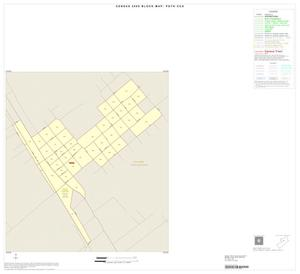 Primary view of object titled '2000 Census County Subdivison Block Map: Poth CCD, Texas, Inset A01'.