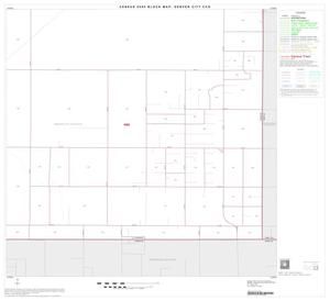 Primary view of object titled '2000 Census County Subdivison Block Map: Denver City CCD, Texas, Block 7'.