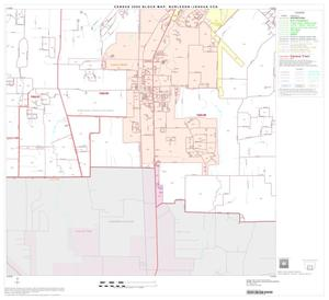 Primary view of object titled '2000 Census County Subdivison Block Map: Burleson-Joshua CCD, Texas, Block 5'.