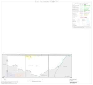 Primary view of object titled '2000 Census County Subdivison Block Map: Kilgore CCD, Texas, Index'.
