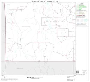 Primary view of object titled '2000 Census County Subdivison Block Map: Cross Plains CCD, Texas, Block 3'.