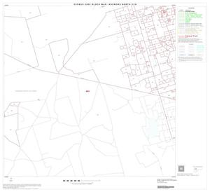 Primary view of object titled '2000 Census County Subdivison Block Map: Andrews North CCD, Texas, Block 8'.