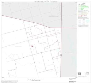 Primary view of object titled '2000 Census County Subdivison Block Map: Stanton CCD, Texas, Block 2'.