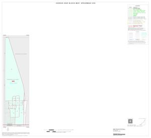 Primary view of object titled '2000 Census County Subdivison Block Map: Spearman CCD, Texas, Inset B01'.